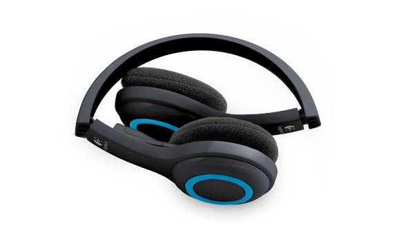 Auriculares-Logitech-Wireless-Headset-H600-casque-Kopfhorer-Headphone