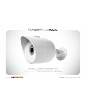 Y-Cam YCEXW01 Outdoor IP Camera External Housing Shell for Y-Cam White/