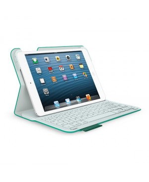Teclado Aleman Logitech Ultrathin Keyboard Folio for iPad mini y mini 2 GREEN LEASH DEU BT