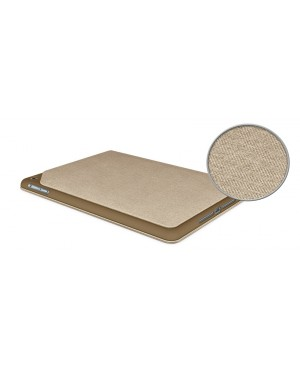 Hinge Flexible Case with Any-Angle Stand for iPad Air-LIGHT BROWN FOR IPAD AIR