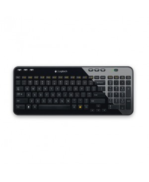 Teclado Aleman Logitech Wireless Keyboard K360 DEU CENTRAL K360