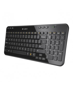 Teclado + Raton Nordic Logitech Wireless Combo MK365 HIGH GLOSSY BLACK PAN