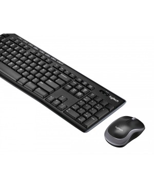 Teclado + Raton Ingles US Logitech Wireless Combo MK270 US INTL