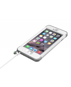 LifeProof Nuud - Funda para Apple iPhone 6 Plus color blanco