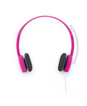 Auriculares Logitech Stereo H150 CraMberry Rosa