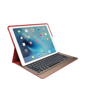 Teclado Aleman Logitech CREATE Backlit Keyboard Case with Smart Connector SMART RED DEU OTH