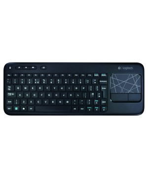 Teclado PAN Nordic Logitech Wireless Touch Keyboard K400 PAN NORDIC PAN NORDIC