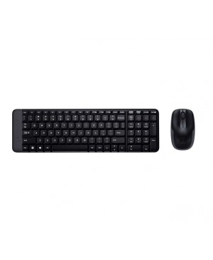 Teclado + Raton Ingles UK Logitech Wireless Combo MK220 UK Logitech WIRELESS COMBO MK220