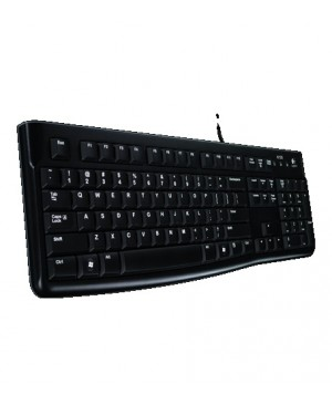 Teclado Ingles UK Keyboard K120 for Business BLK UK USB EMEA KEYBOARD K120 FOR BUSINESS