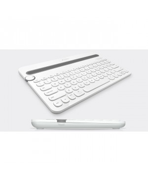 Teclado Ingles US Logitech Bluetooth Multi Device Keyboard K480 WHITE Bluetooth