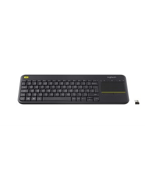 Teclado Italiano Logitech Wireless Touch Keyboard K400 Plus DARK ITA TOUCH