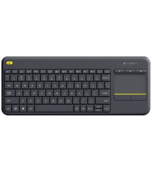 Teclado Turco Logitech Wireless Touch Keyboard K400 Plus DARK TUR 2.4GHZ INTNL