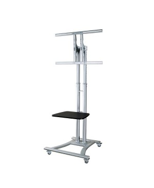 NEWSTAR COMPUTER PLASMA MOBILE STAND INCL SHELF MAX 50Kg VESA200 600X450MM EN
