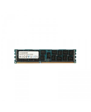 V7 V7106008GBR Server DDR3 DIMM módulo de memoria 8GB 1333MHZ CL9 PC3-10600 240pin 1.5 Volt Re
