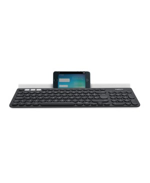 Teclado Aleman Logitech K780 Multi Device Wireless Keyboard DARK GREY/SPECKLED WHITE DEU BT