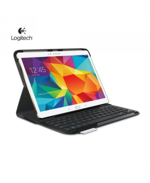 Teclado Frances Logitech Type-S Thin +light protective keyboard case. For Samsung Galaxy Tab S