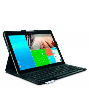 Teclado Frances Logitech PRO Protective case with full-size keyboard Samsung Galaxy NotePRO 12.2