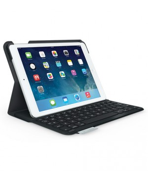 Teclado Español Logitech Ultrathin Keyboard Folio for iPad AIR NEGRO TELA