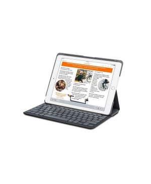 Teclado Español Logitech Canvas Keyboard Case for iPad Air 2 BLACK ESP BT SYNTHETIC