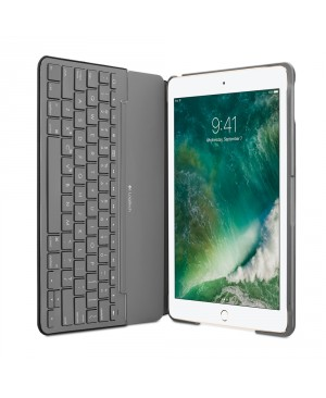 Teclado Frances Logitech Canvas Keyboard Case for iPad Air 2- BLACK FRA BT SYNTHETIC