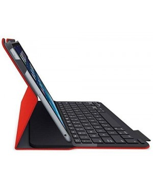 Teclado Frances Logitech Type+ case keyboard For iPad Air MARS RED ORANGE FR