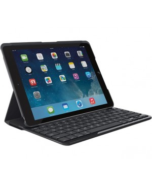 Teclado Italiano logitech Canvas Keyboard Case for iPad Air 2  BLACK ITA BT SYNT