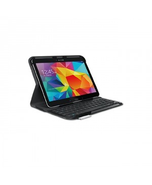 Teclado Italiano Logitech Ultrathin Keyboard Folio for Samsung Galaxy Tab 4 10.1 CARBON BLACK ITA BT