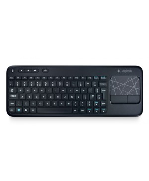 Teclado Italiano Logitech Cordless Touch Keyboard K400 ToucHPad ITALIANO -U
