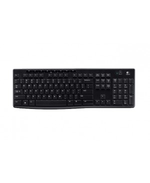 Teclado PAN Nordic Logitech Wireless Keyboard K270 PAN 2.4GHZ NORDIC