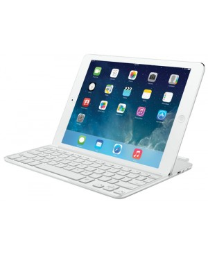 Teclado PAN Nordic Logitech Ultrathin Magnetic Clip on Keyboard Cover for iPad Air SILVER PAN