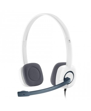 Auriculares Logitech Stereo H150 Coconut Blanco