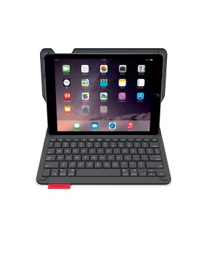 Teclado Aleman Logitech Type+ For iPad Air 2 BLACK DEU BT CENTRAL SYNTH German