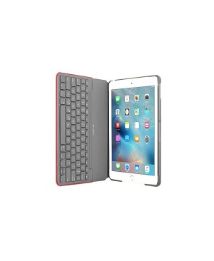 Teclado Español Logitech Canvas Keyboard Case for iPad Air 2 MARS RED ORANGE ESP BT