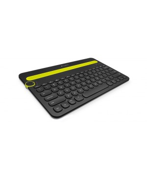 Teclado Aleman Logitech Bluetooth Multi Device Keyboard K480 BLACK DEU BT CENTRAL German