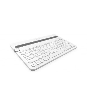 Teclado Aleman Logitech Bluetooth Multi Device Keyboard K480 WHITE DEU BT