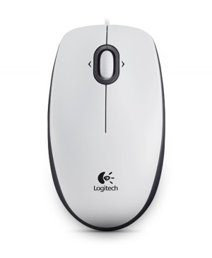 Raton Logitech Mouse M100-WHITE-USB-N/A-EER2-933