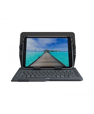 Teclado Aleman Logitech Universal Folio with integrated keyboard for 9 10in tablets DEU BT