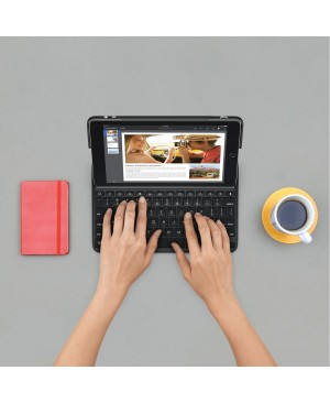 Teclado Italiano Logitech CREATE Backlit Keyboard Case with Smart Connector Technology BLACK ITA