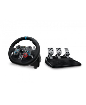 G29 Driving Force Racing Wheel for PlayStation 4 +PlayStation 3 USB-PLUGG SONY