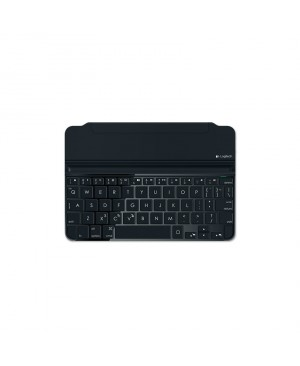 Teclado Frances Logitech Ultrathin Magnetic Clip-on Keyboard Cover iPad mini y Retina SPACE GREY FRA