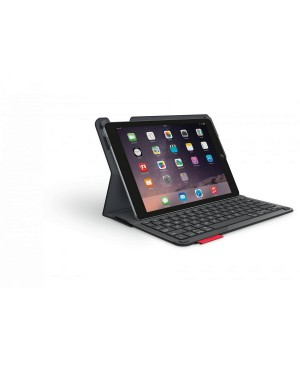 Teclado Ingles UK Logitech Type+ For iPad Air 2 BLACK UK BT INT
