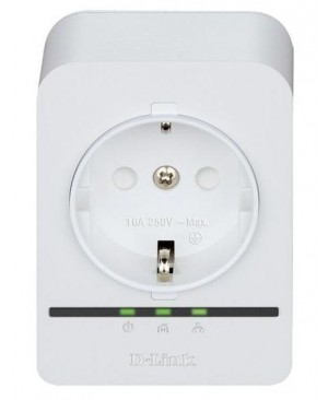 D-Link PowerLine DHP-P308AV Puente HomePlug AV HPAV IEEE 1901 conectable pared