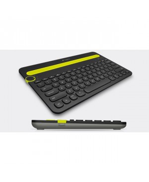 Teclado Italiano Logitech Bluetooth Multi Device Keyboard K480 BLACK ITA BT MEDITER Multi Device
