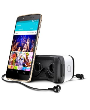 Alcatel IDOL 4 SIM doble 4G 16GB Negro, Oro