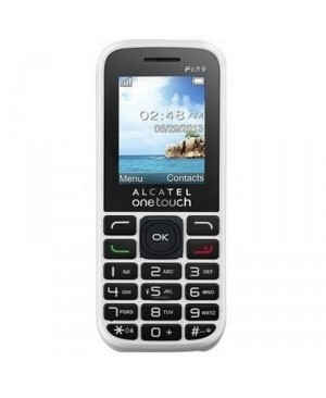 ALCATEL IBERIA 10.50G PURE WHITE 1.8INQQVGA 32MB RAM MICROSD 16GB IN