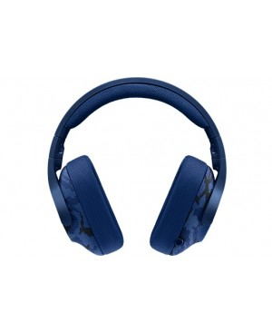 Logitech G433 Auriculares con micrófono y cable gaming Surround PC Xbox One PS4 Switch BLUE CAMO 3.5