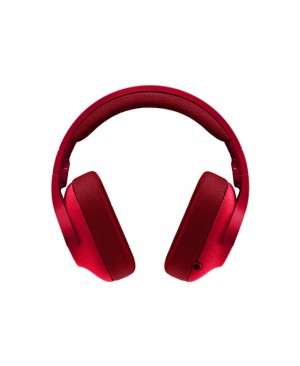 Logitech G433 Auriculares con micrófono y cable gaming (Surround PC Xbox One PS4 Switch) rojo 3.5