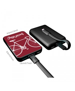 Tarjeta Powerbank SMARTOOLS MC10 Bike-Red